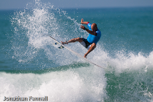Kelly Slater busting an air