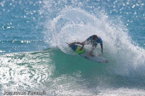 Mick Fanning Contest Winner