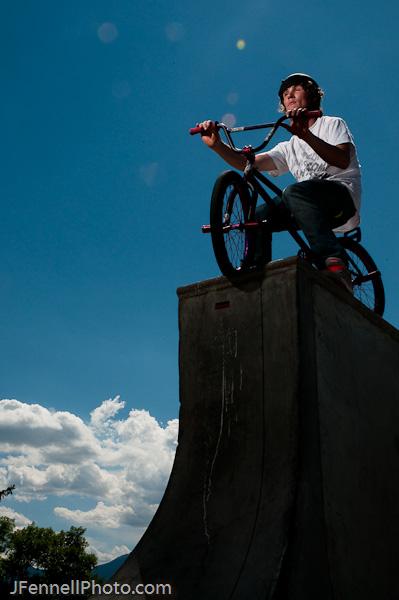 BMX Portrait