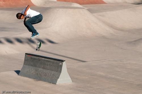 Kickflip to boardslide