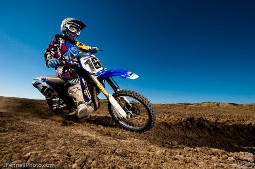 Berm Shot Motocross