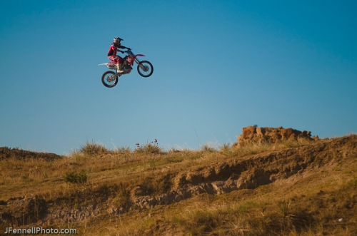 Big Air Motocross jump
