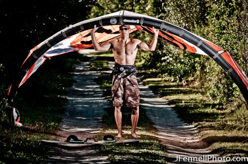 Kiteboard Lifestyle Athlete Photograph