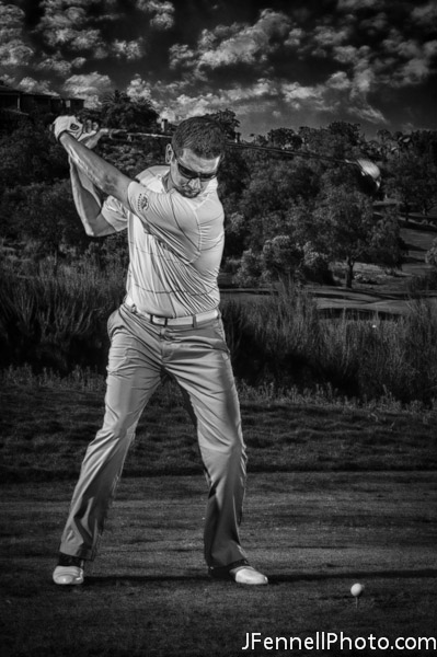 JFennell Photography Golf Photo Shoot of Chad Bennett