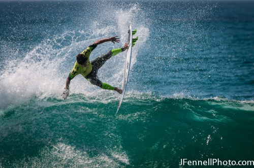 Gabriel Medina letting it fly
