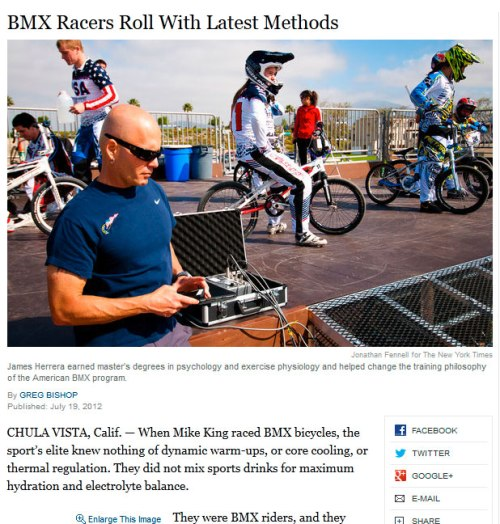 BMX Racers Roll With Latest Methods